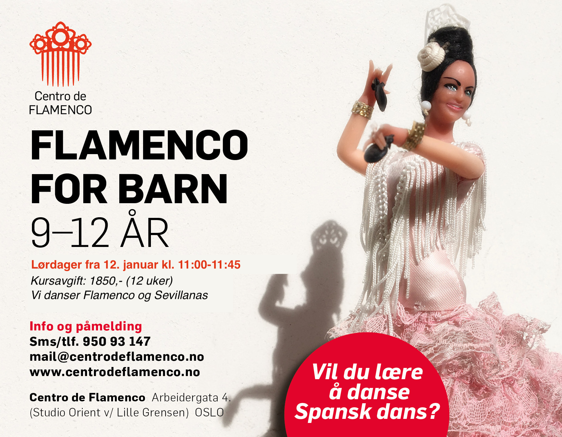 Flamenco for barn